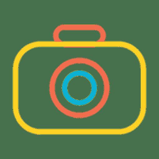 Icono de foto de camara Transparent PNG