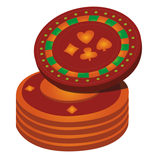 Casino coins icon Transparent PNG