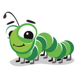 Centipede cartoon