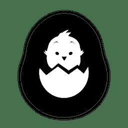 Frango em casca de ovo