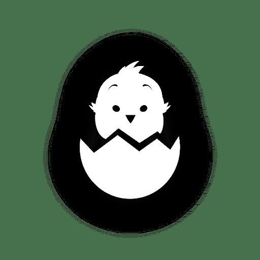 Pollo en cáscara de huevo