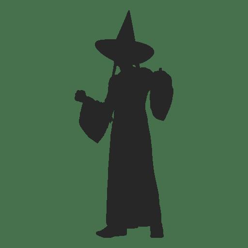 Children witch costume