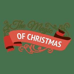 decoración de la cinta de Navidad