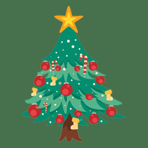 Ícone de árvore de Natal Transparent PNG