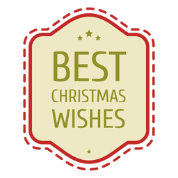 Christmas wishes seal