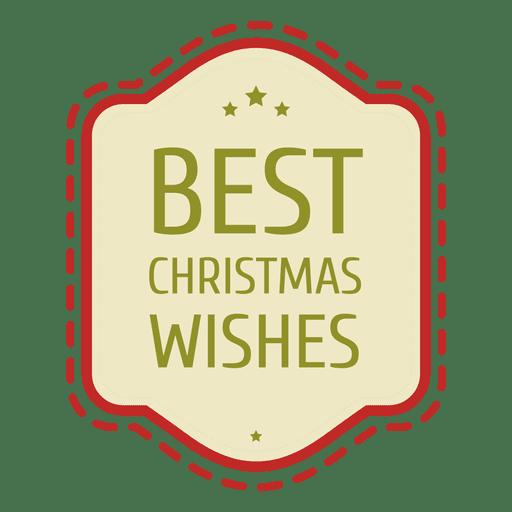 Weihnachten wünscht Siegel Transparent PNG