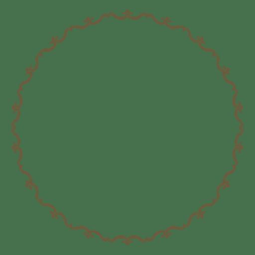 Marco de círculo 05 Transparent PNG