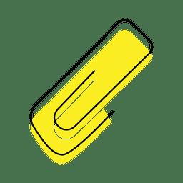 Ícone de deslocamento de clipe
