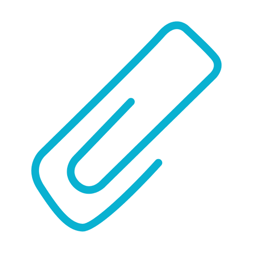 Clip attached icon Transparent PNG