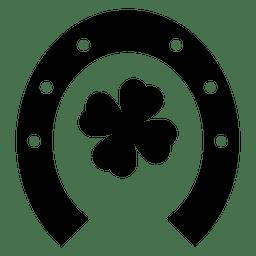 Trébol casco de caballo
