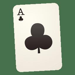 Cartão de jogo do clube