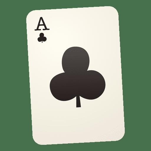 Club playing card