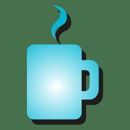 Ícone de caneca de café Transparent PNG