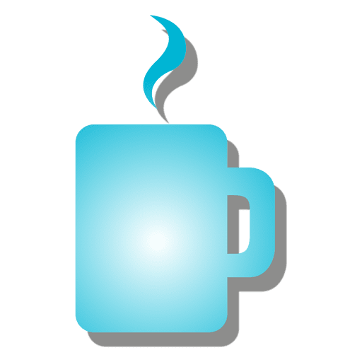 Icono de la taza de cafe Transparent PNG