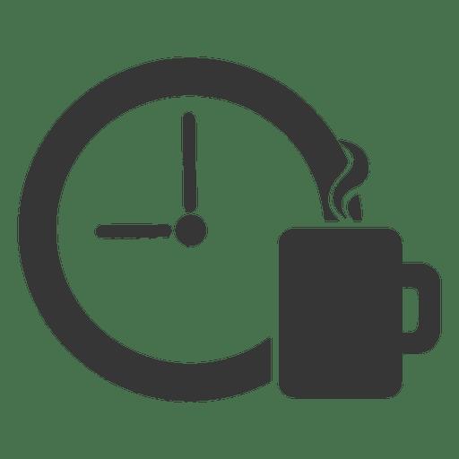 Icono de la hora del café