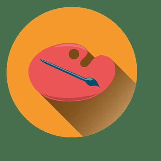 Color Palette Circle Icon Transparent Png Svg Vector