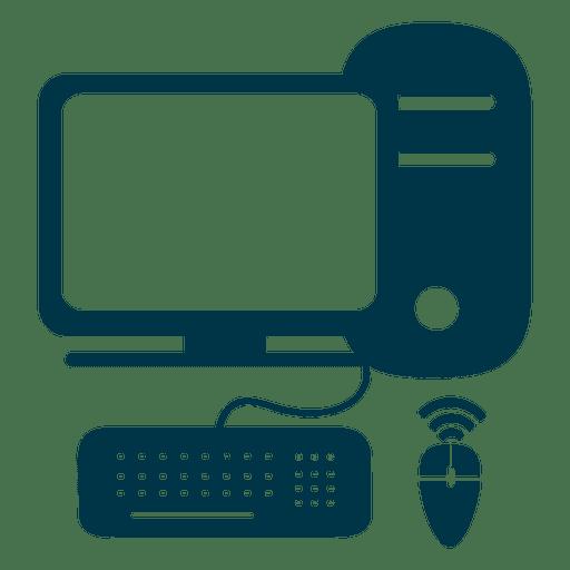Icono De La Computadora Plana Descargar Png Svg Transparente