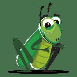 Dibujos animados de error de cricket
