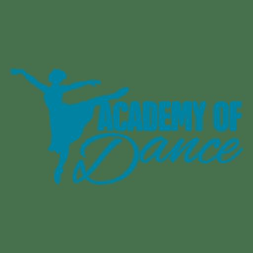 Logo de la Academia de Danza Transparent PNG