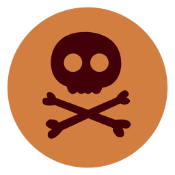 Danger circle icon
