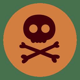 Gefahrenkreis-Symbol