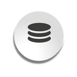 Database bubble icon