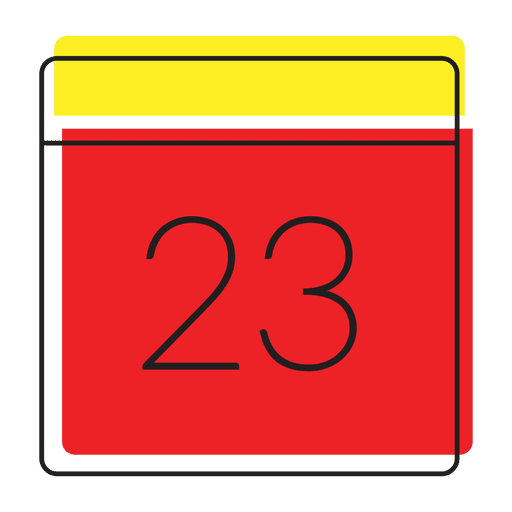 Date calendar icon Transparent PNG