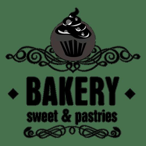 Decorative bakery label