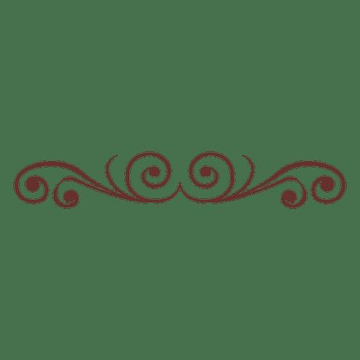 Separador decorativo adornado 6