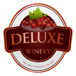 Deluxe winery logo