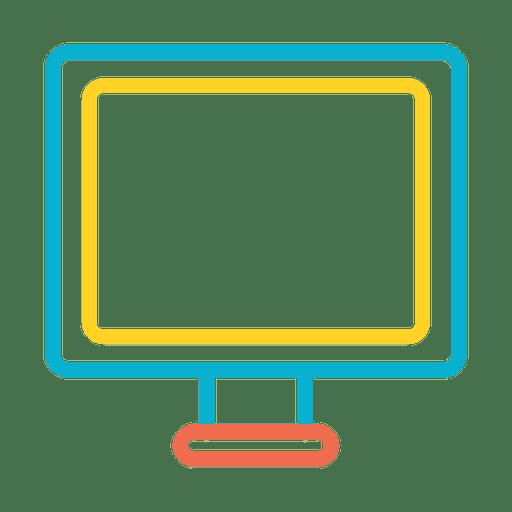 Icono de computadora del dispositivo