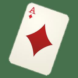 Tarjeta de juego de diamante