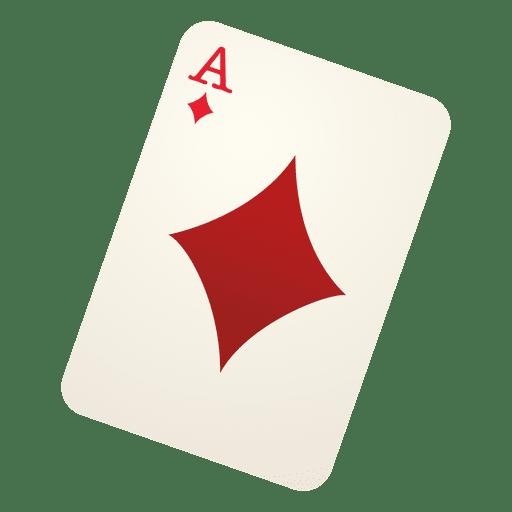 Tarjeta de juego de diamante Transparent PNG