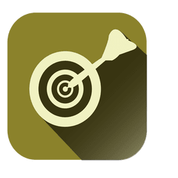 Dirtboard target square icon