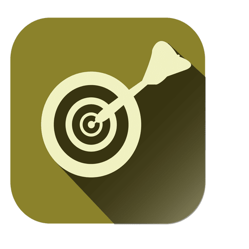 Dirtboard target square icon Transparent PNG