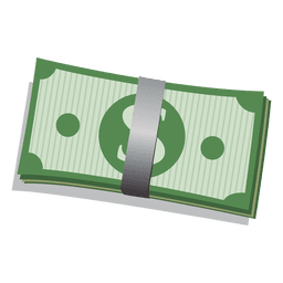 Dollar bill bundle