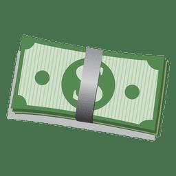 Vetor de notas de dólar