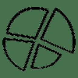 gráfico de sectores del Doodle
