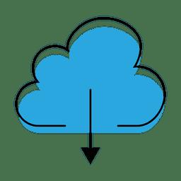 Descargar icono de nube
