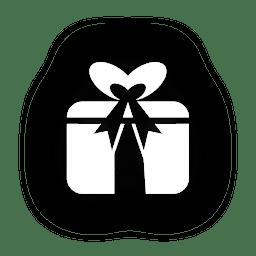 Easter giftbox icon