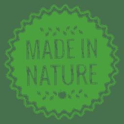 insignia etiqueta de Ecología