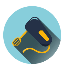 Icono de máquina de batidor de huevo