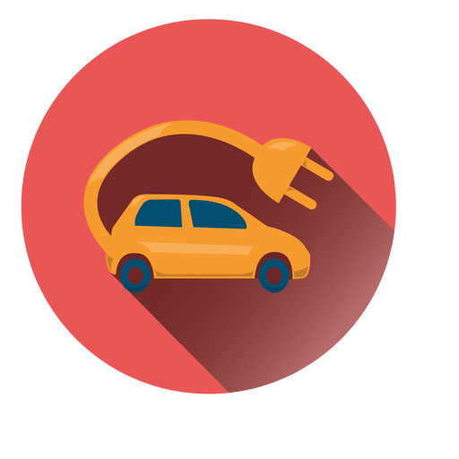 Electric Car Circle Icon Transparent Png Svg Vector