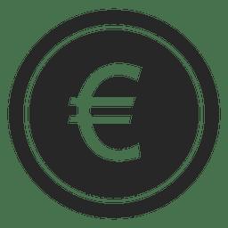Icono de moneda de euro