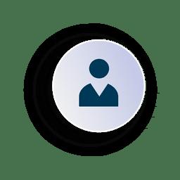 Ícone do círculo executivo