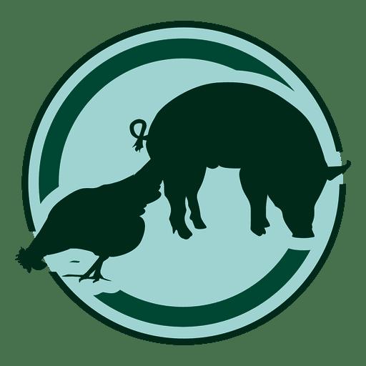 Logotipo de la granja Transparent PNG