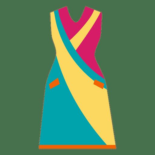 Bright fashion clothes dress