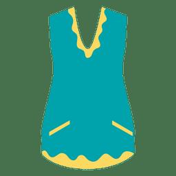Colete de roupas da moda