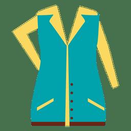 vestido de ropa de moda suter