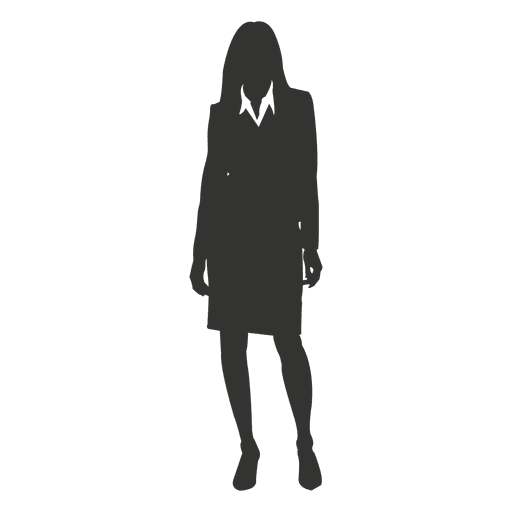Female executive standing 2 Transparent PNG